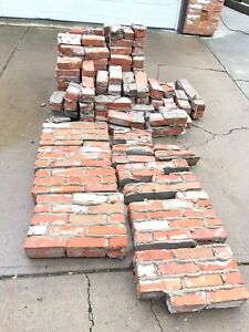 Reclaimed Recycled - Classic Red & White Brick