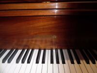 baby grand piano by hyundai 5ft