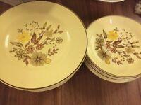 Jasmine Wood Ware Plates and Bowls