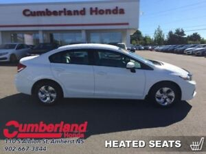 2014 Honda Civic Sedan LX  - Bluetooth -  Heated Seats