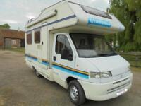 1998 5 Berth Granduca Motorhome For Sale REDUCED