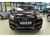 Audi Q7 TDI QUATTRO S LINE PLUS [NAV / DAB / 7 SEATS / 20''s] (brilliant black metallic) 2013
