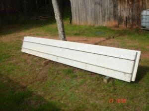 16' Overhead Roll-up door Panels