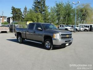 2012 CHEVROLET SILVERADO 2500HD CREW CAB SHORT BOX 4X4
