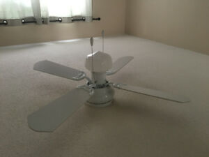 3 x Ceiling Fans with light, mint condition