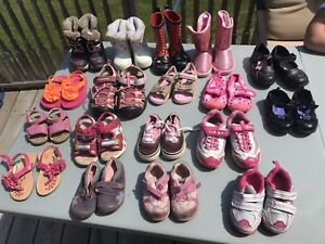 Variety of Girls Shoes