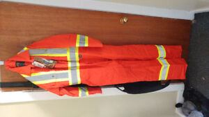 Pioneer mens reflective coveralls size 46