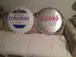 Collector signs  (aluminum)