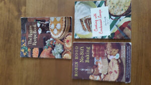 3 Vintage Cookbooks