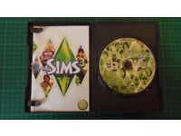 Sims 3 Games (five) - includes 4 expansion packs - certificate 12