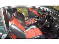 Black peugeot 206 cc convertable