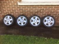 Mk2 MR2 Alloys with Tyres