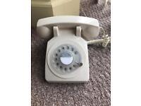 Cream phone