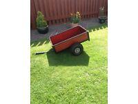 Berg go kart trailer