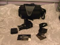 Bronica Medium format camera plus filters and extra viewfinder