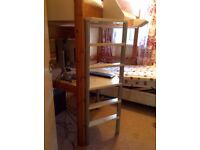 Stompa High Bed with desk shelf and table **Available**