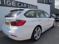BMW 3 SERIES 2.0 320D SPORT TOURING 5d 181 BHP (white) 2013
