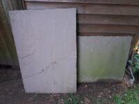 4 x sandstone flagstones