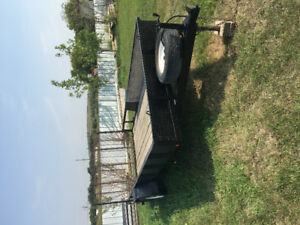 14' ramp gate trailer