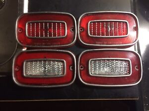 1971 Chevrolet Vega Tail Light Lenses Complete Set
