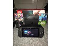 Nintendo Switch with 2 Games and Accessories