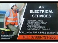 Fully Qualified and registered Electricians *All of Greater Manchester Covered*