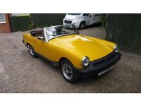 1979 MG Midget 1500 in Inca Yellow