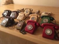 Old - GPO / BT - Telephones (Job Lot)