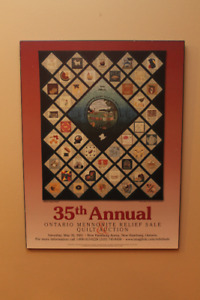 Collectible Mennonite Quilt Auction Posters