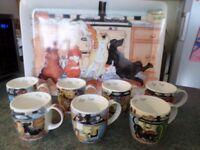 Aga Saga Mugs and tray