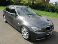 2008 BMW 320D 2.0 EDITION M SPORT 4 DOOR SALOON FSH FULL MOT LEATHER SAT NAV PX