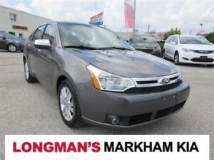2011 Ford Focus SEL Leather Moonroof Heated Seats