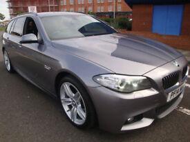14 BMW 520D 184 BHP M-SPORT ESTATE AUTOMATIC DIESEL *LEATHER SATNAV*