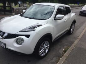 Nissan Juke automatic 2015, ONLY 6,000 MILES, full nissan service histroy, one lady owner from new..