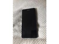 Sony Xperia e5 black unlocked 16g charger and box