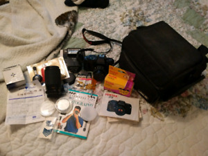 Pentax P3 camera and accessories NEW PRICE
