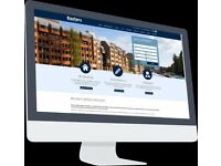 Estate agent system – website with listings, manage content on website, photos, prices etc Phone app