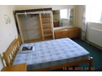 Double room in student house.