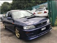 SUBARU IMPREZA UK TURBO 12 MONTHS MOT PX OR SWAP
