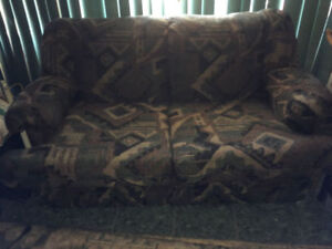 Love seat couch and chair set