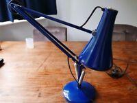 Retro Blue Anglepoise Lamp