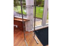 Shop Display Stand Metal Silver Colour