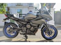 Yamaha XJ6s Diversion - 7200 miles only - 12months MOT- Imacculate Condition.