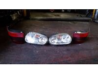 Golf 1.9 TDI, 2001 plate, front and rear lights