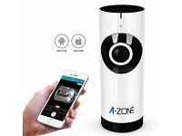 *BRAND NEW* A-ZONE IP Camera 720P Wireless dual audio