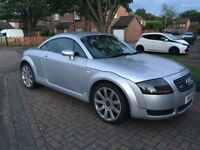 Audi TT - 2001 Coupe Quattro - 1.8 Engine Size - Silver - 158,345 Mileage - Leather Seats & Sony CD