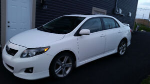 2009 Toyota Corolla XRS - Only 78,000 KM!!!  $6900 ONO