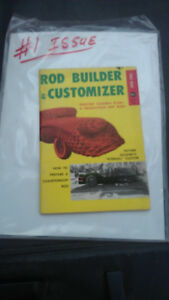 #1 Rod Builder & Customizer July 1956