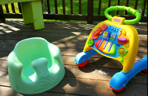 Bumbo Seat and Walker