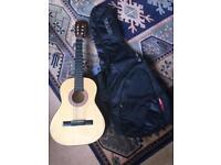 Juniors guitar with Ritter carry case